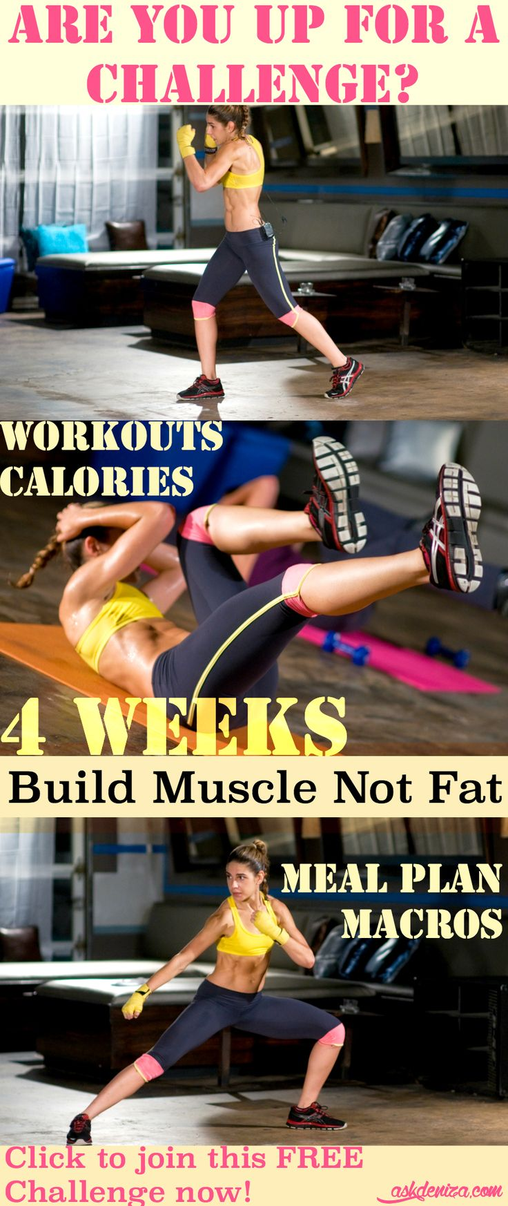 how to get low body fat and build muscle