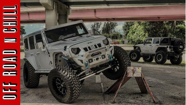 Crazy Jeep Wrangler Photoshoot with Kingsdisastergarage