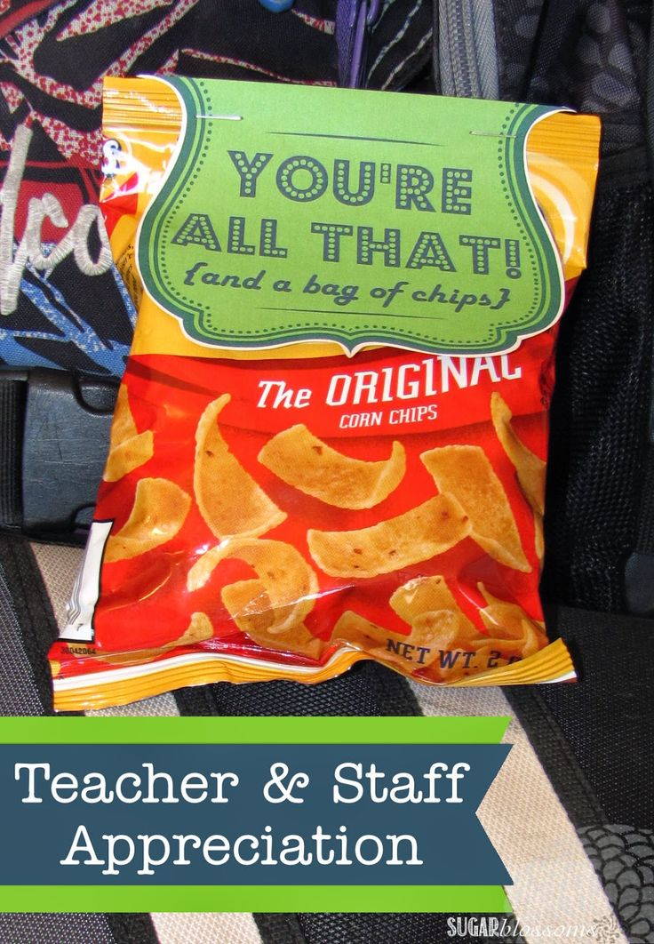 Sugar Blossoms: Teacher & Staff Appreciation Printable                                                                                                                                                     More