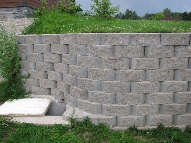 Фотогалерея «Подпорная стенка между участками»