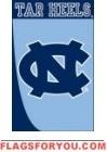 Applique - North Carolina State University Swoosh House Flag