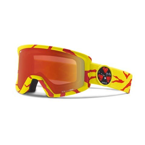 Giro Men's Blok Ltd Snow Goggle : Gerry Lopez , Descendents - Gerry Lopez Red / Amber Scarlet: Gerry Lopez… #outdoorclothing #huntinggear
