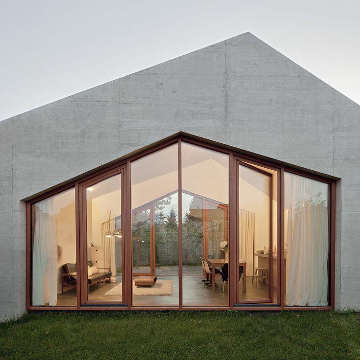 Confignon House / LOCALARCHITECTURE #concrete #windows #facade