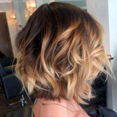 Balyage short hair trends 2017 47 72dpi