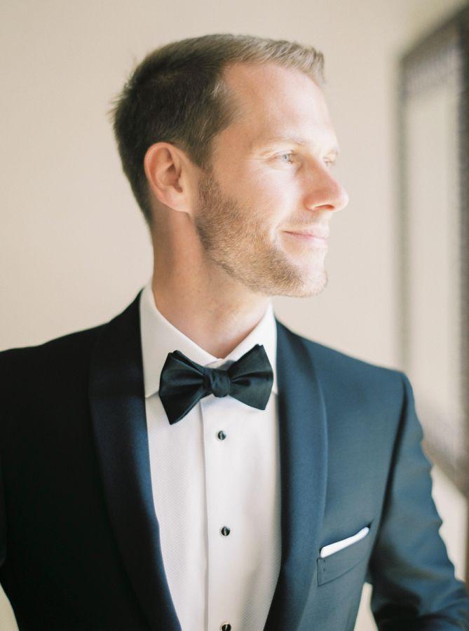Sleek black tie groom: http://www.stylemepretty.com/destination-weddings/spain-weddings/2016/05/05/beautiful-wedding-in-the-sunny-marbella/ | Photography: Joseba Sandoval - http://www.romanceweddings.co.uk/