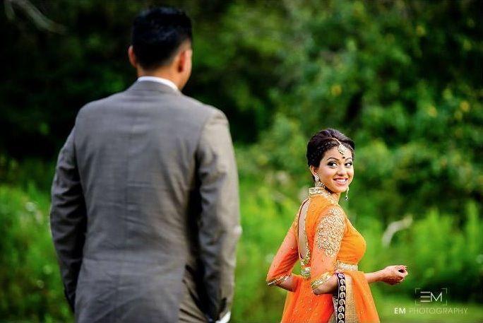 sri lankan couple. / wedding photoshoot