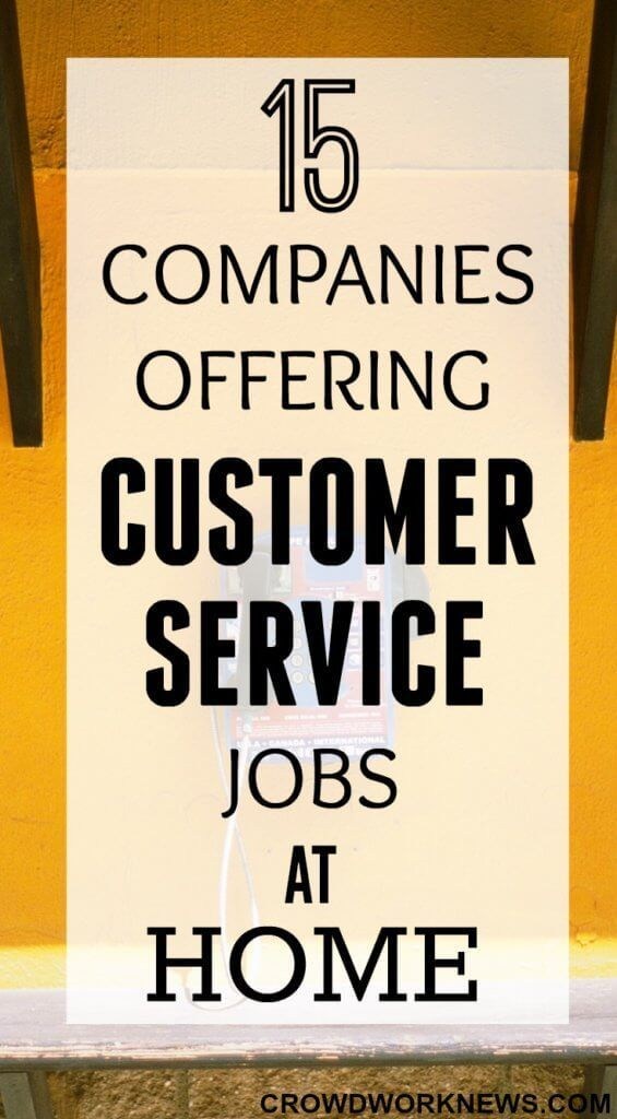 Tired of looking for customer service roles to work from home? Here is a list of 15 popular companies offering customer service roles.