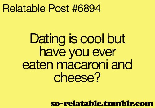 Cheese dating