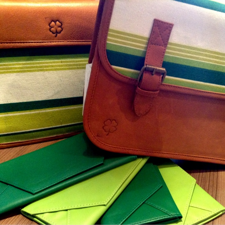 #Lucky #green version of our University #bag for #StPatricksDay