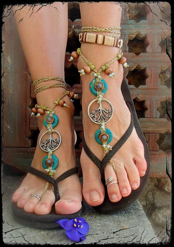 TREE of life BAREFOOT SANDALS