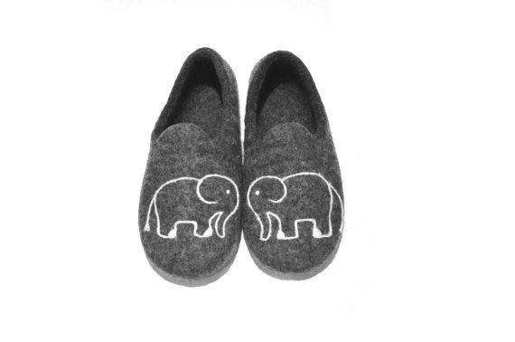 These cozy wool slippers — $65 | 23 Super Stylish Products Every Elephant-Lover Needs To Own