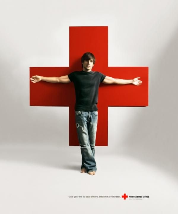 VOLUNTEER by Leo Burnett Lima for Peruvian Red Cross in Peru (April 2006)
