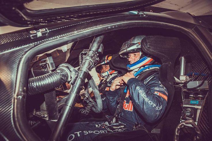 Loeb en panne au Maroc 2015