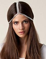 BURSDAG SNART/ BIRTHDAY COMING UP: Unique Hair Chain - Nelly Trend - Sølv - Smykker - Tilbehør - NELLY.COM Mote online