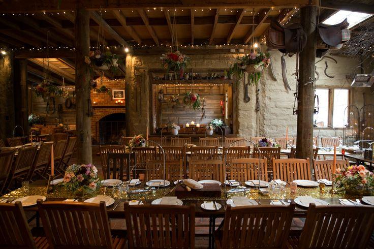 Jewish Farm Wedding Reception