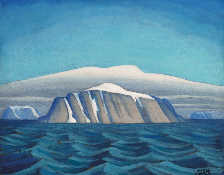 Lawren Harris, Island Off Greenland, Arctic Sketch XIX