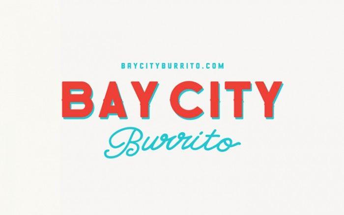 """Bay City Burrito. SF/Mission style food reinterpreted """"down under"""" #RestaurantBranding"""