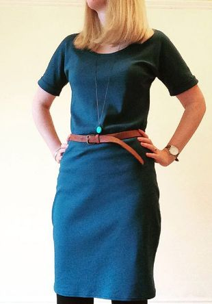Helen's Bettine dress - sewing pattern by Tilly and the Buttons