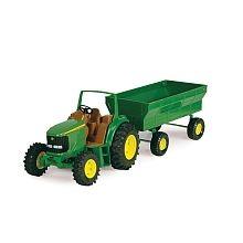 John Deere - Tractor And Wagon Set