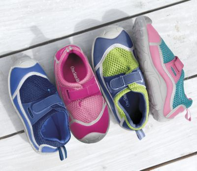 Adjustable kids water shoes.  Great deal!!