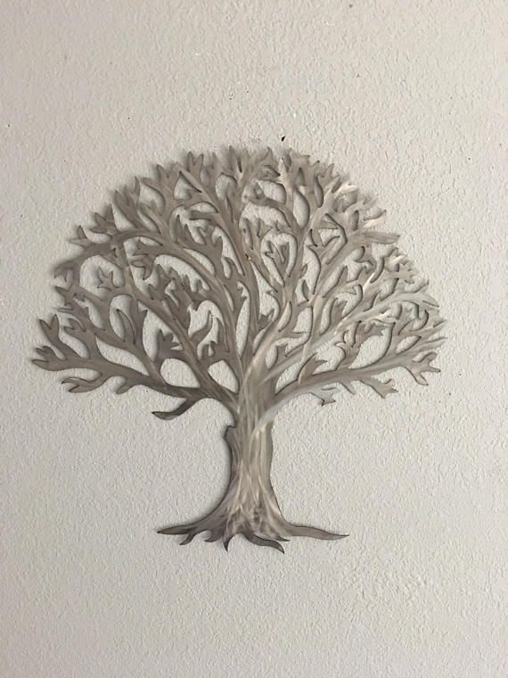 Beau Metal Tree Stainless Steel Tree Wall Art Wall Decor