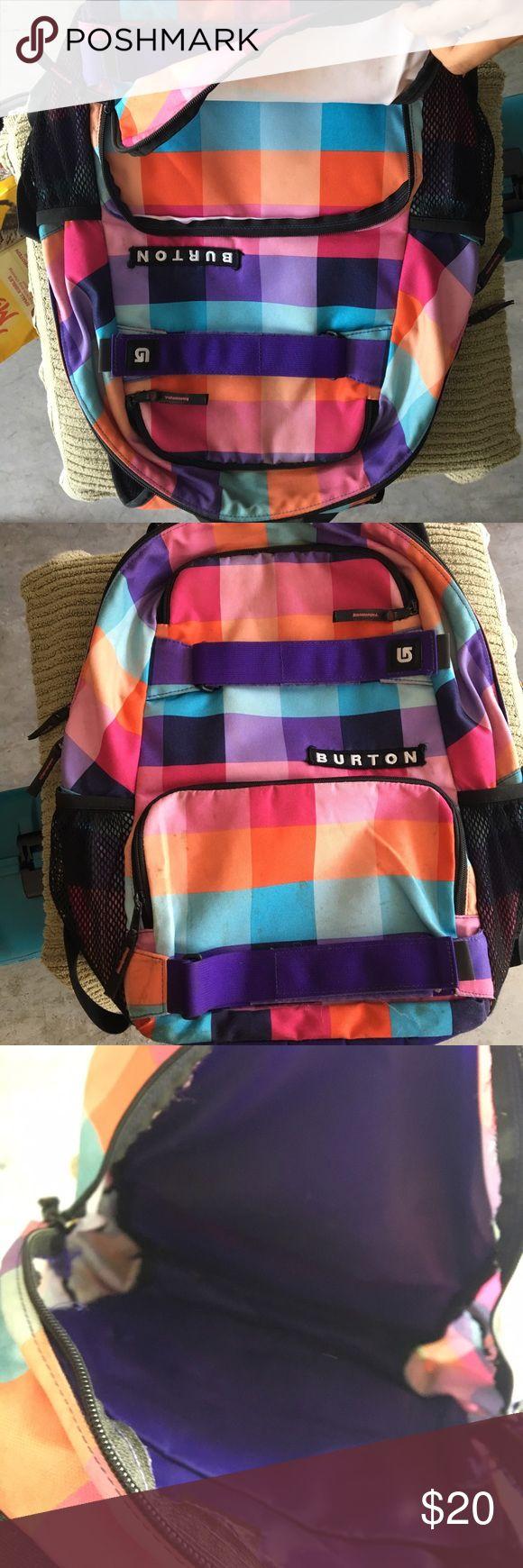Burton bookbag Like new! In great condition!! Burton Bags Backpacks