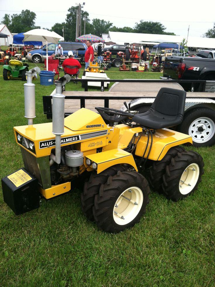 Garden Tractor Custom Truck : Custom built allis chalmers b tractors pinterest
