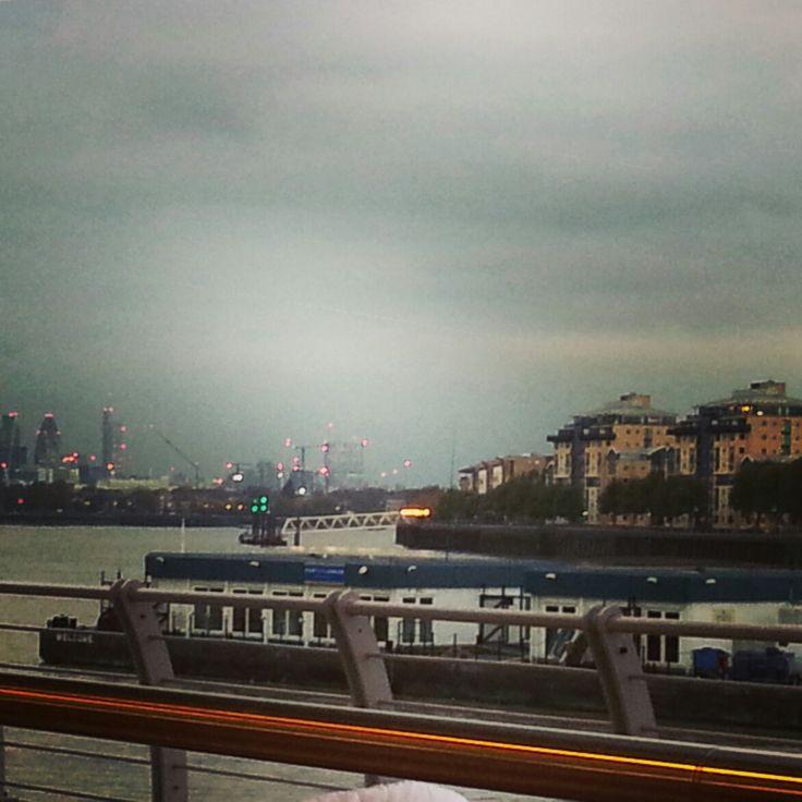 Dusk in Greenwich