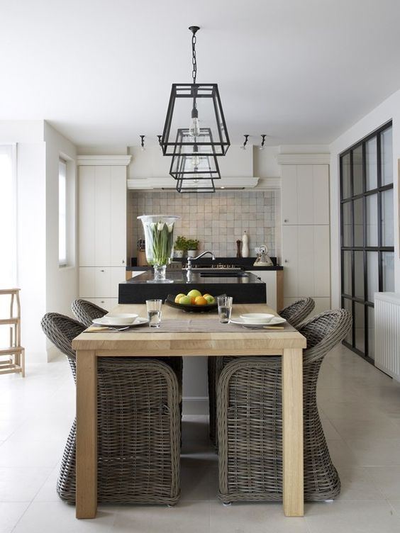 The Grey Rattan Kubu Chair: Belgian Style Must-Haves (Modern Country Style)