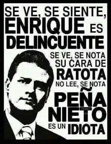 Peña Nieto, presidente de México.