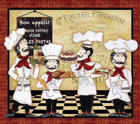 I uploaded new artwork to fineartamerica.com! - 'French Chefs-bon Appetit' - http://fineartamerica.com/featured/french-chefs-bon-appetit-jean-plout.html via @fineartamerica