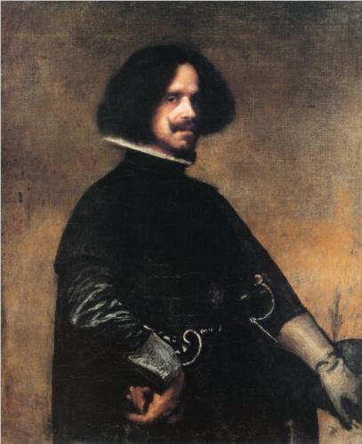 Self-portrait - Diego Velazquez