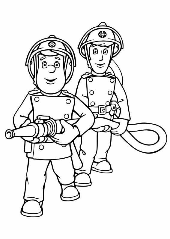 Fireman Sam Coloring Pages Best Coloring Pages For Kids Fireman Sam Fireman Cool Coloring Pages