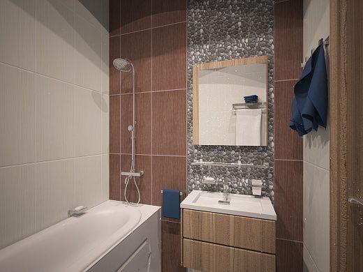 2-х комнатная квартира 54.42m²
