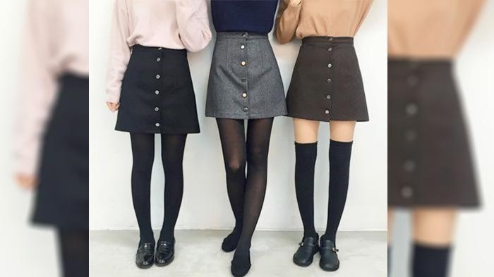 Suka Bergaya Vintage, Girls? Saatnya Kalian Coba Pakai Rok Mini Ini, Pasti Kekinian Abis!