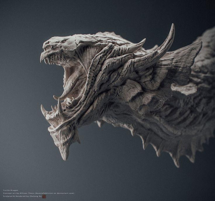 Dragon 3D Art by Zhelong XU Zhelong XU is a Freelance Digital Artisan from Shanghai, China. In this