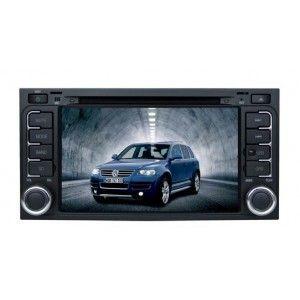 Autoradio DVD GPS VOLKSWAGEN TOUAREG 2003-2009 avec ecran tactile & fonction Bluetooth