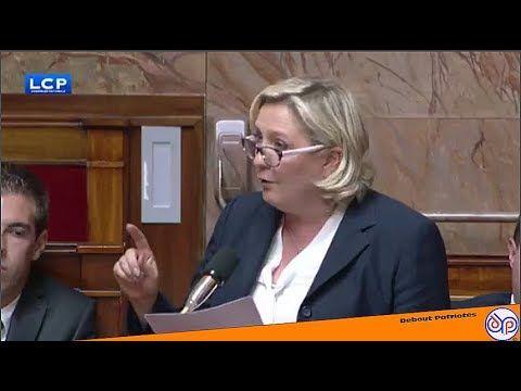 CLASH à l'assemblée #5 10/07 M.LE PEN et MELENCHON mouchent la majorité ...
