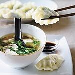 spinach and mushroom vegetarian dumpling filling