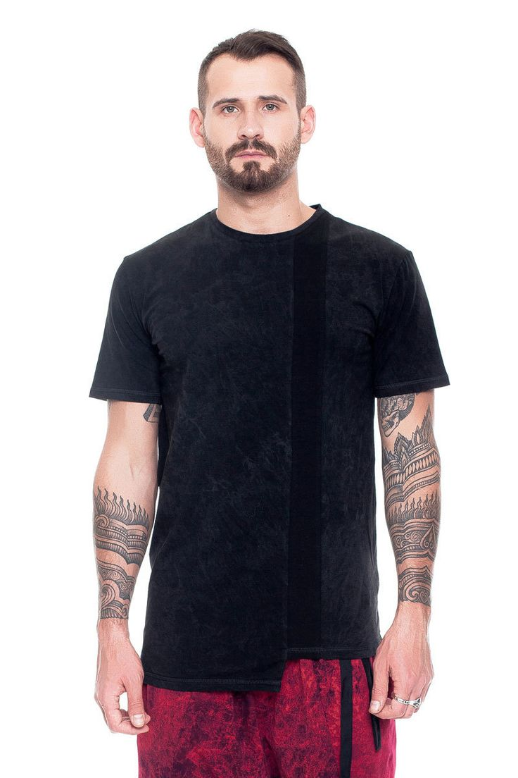 Stonewash T-shirt with short sleeves and inserts    #mariashi #fashion #russiandesigners #nofilter #outfit #outfitoftheday #outfits #outfitpost #clothes #fashionista #fashiondesigner #shopping