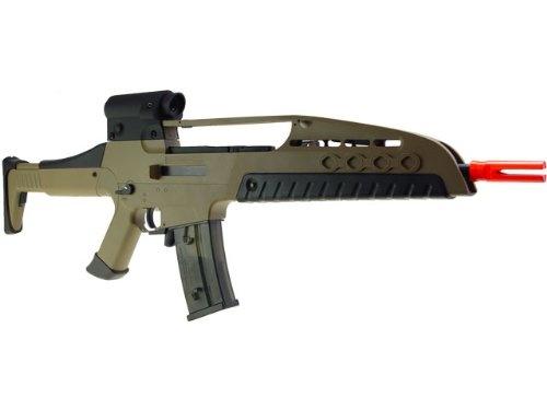 #1:>> Modern SRC Sport Series Metal GB Semi/Full Auto Electric Rifle XM8 XM8-2 Desert Airsoft bb Gun AEG firearm weapon replica soft air PrimaU AE-SR-0621D Get Now