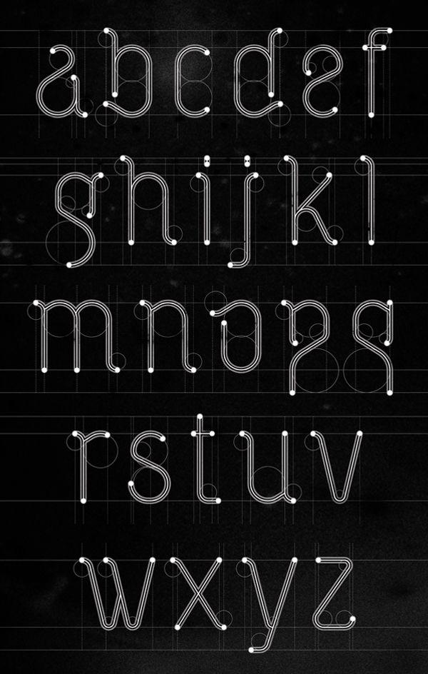 VETKA free font by Ruslan Khasanov, via Behance