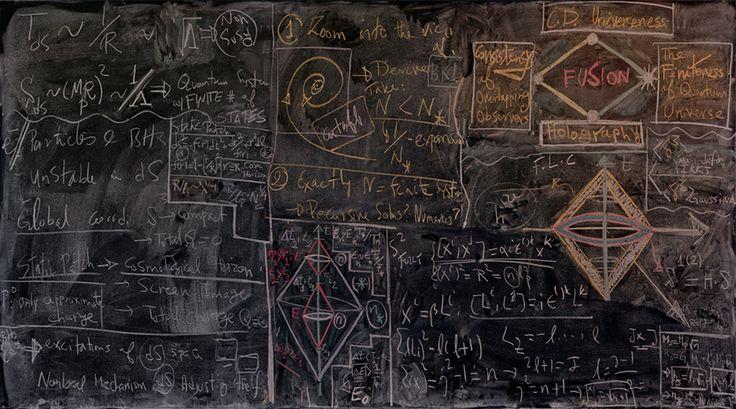 Berkeley II | Community Post: Blackboards Of Quantum Mechanics Institutions