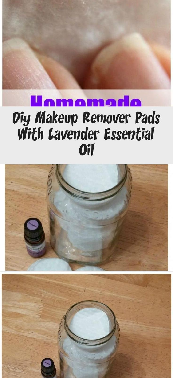 Easy non toxic recipe for makeup remover pads with