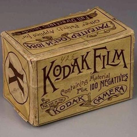Kodak brought the type heat on some of their old packaging. Shared by…
