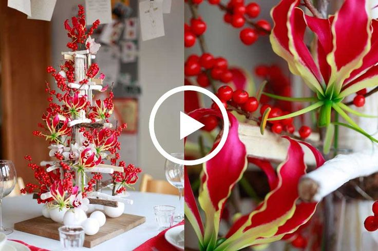 How to Make a Scandinavian Tabletop Tree