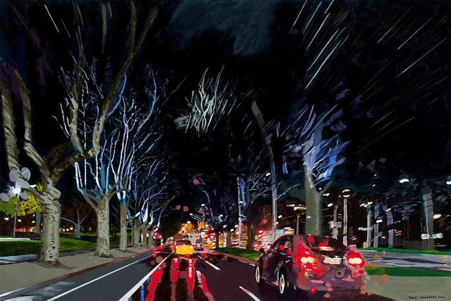 "Tony Sowersby ""Heading South On St. Kilda Road"""