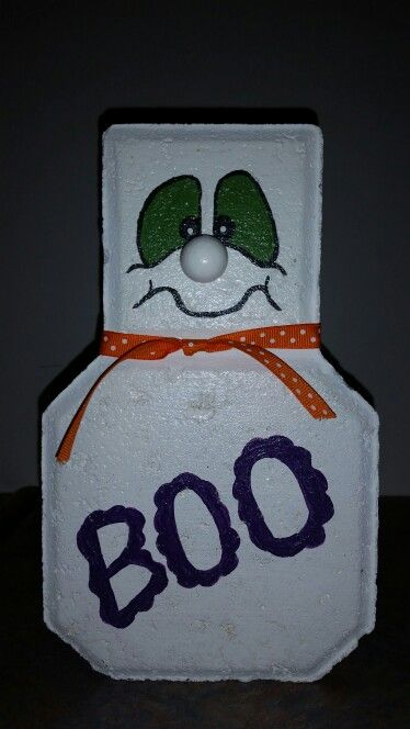 Boo paver craft