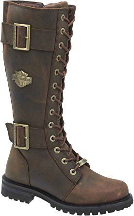 Harley-Davidson Women's Belhaven Motorcycle Riding Boots   Aged Bark Brown – D87083 (8.5) Review