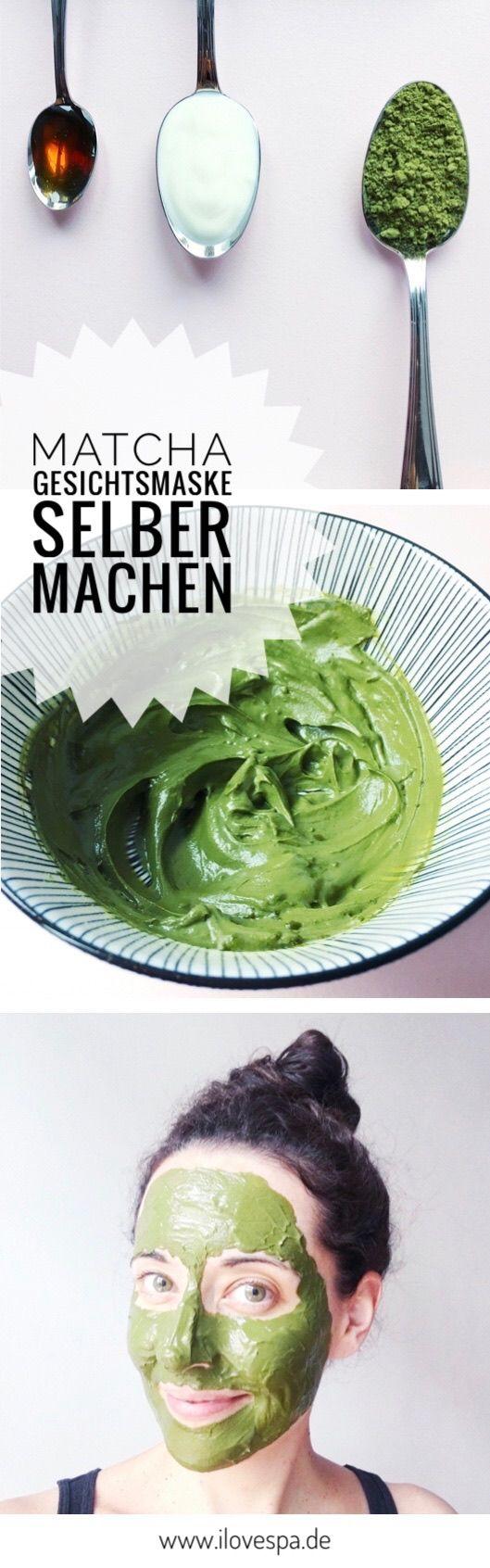 DIY Matcha Gesichtsmaske – das Detox Wunder aus gerade mal 3 Zutaten – Julia Heggemann